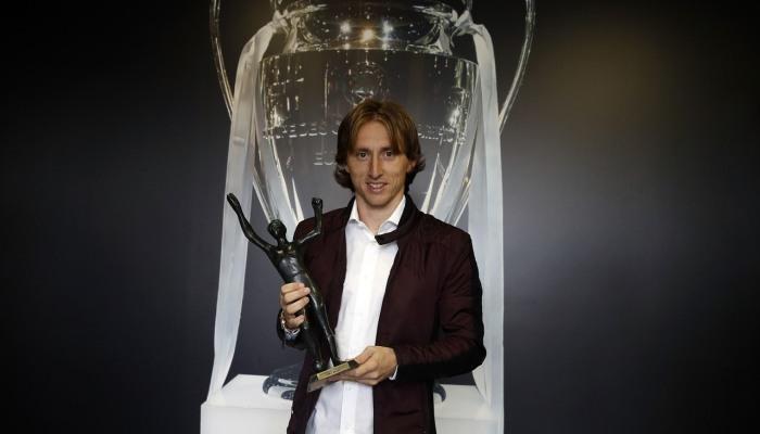 Модрич в пятый раз стал лучшим игроком года вХорватии