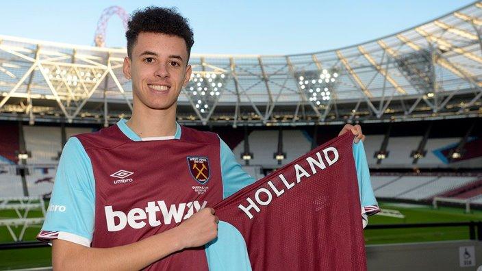 Вест Хэм подписал игрока юношеской сборной Англии