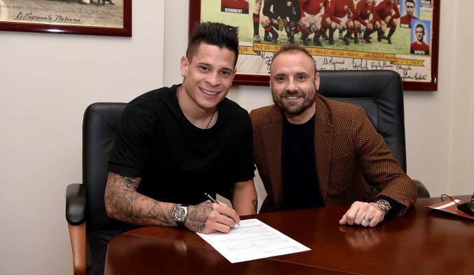 «Торино» объявил об аренде футболиста «Ромы» Хуана Мануэля Итурбе