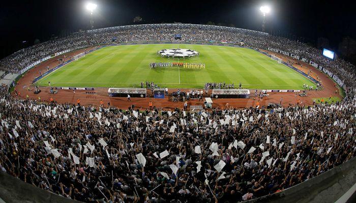 УЕФА лишил «Партизан» еврокубков натри года