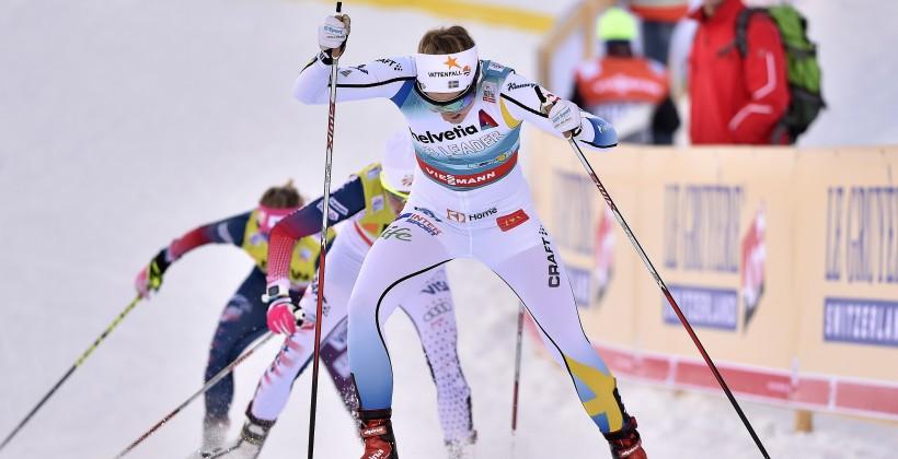 Русский лыжник Устюгов одержал победу четвертую подряд гонку врамках «Тур деСки»