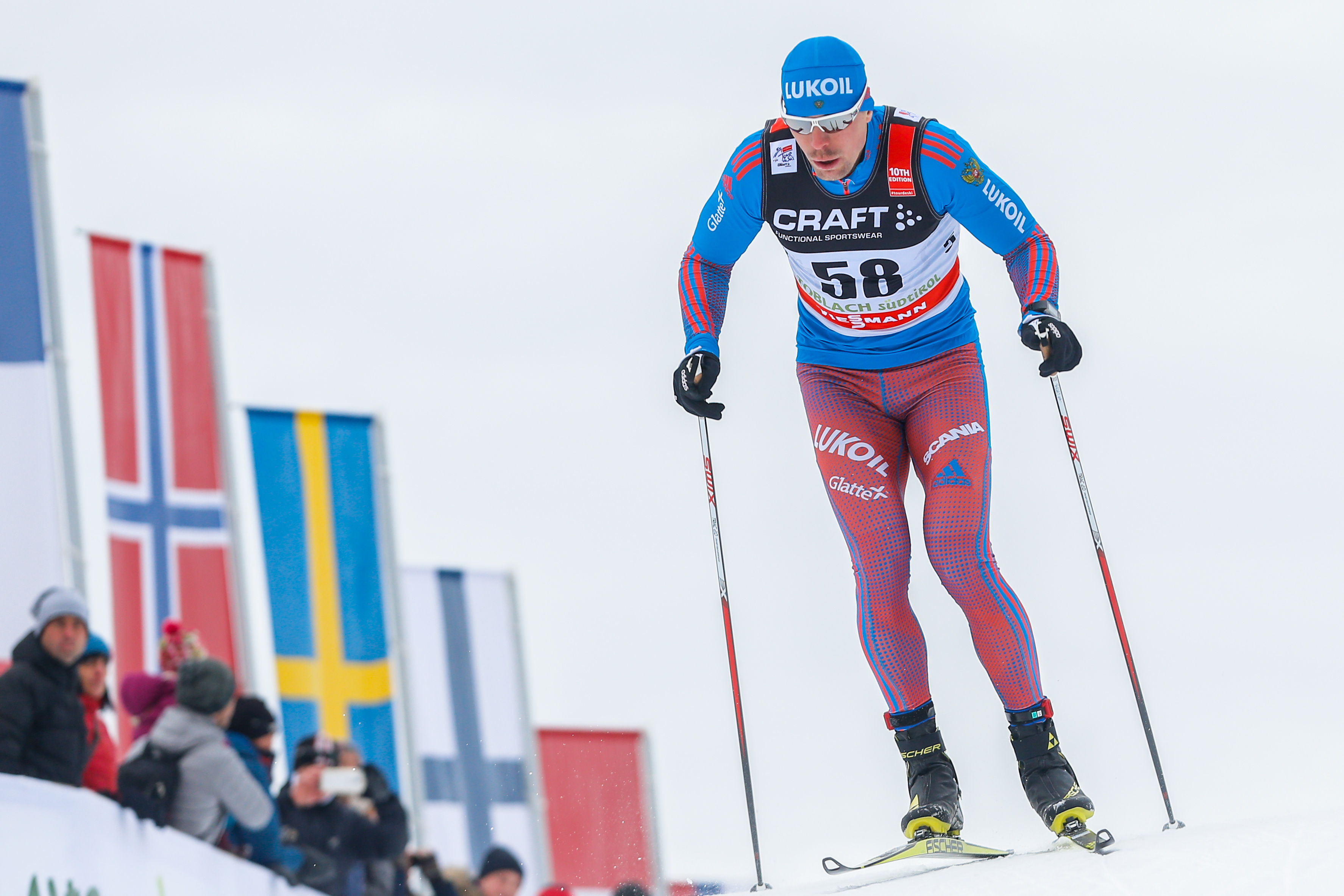 Устюгов стал вторым представителем РФ, выигравшим «Тур деСки»