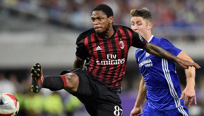 Луис Адриано неприбыл насбор «Милана»
