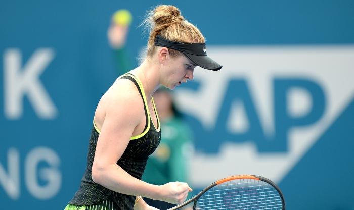 Лучшая теннисистка Украины феерично стартовала вновом сезоне