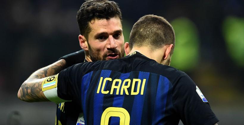 «Интер» вырвал победу у«Болоньи» вдополнительное время вКубке Италии