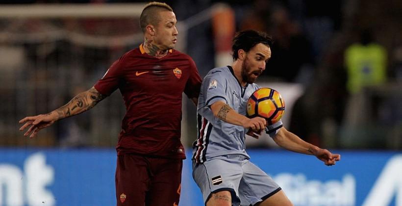 «Рома» разгромила «Сампдорию» ивышла вчетвертьфинал Кубка Италии