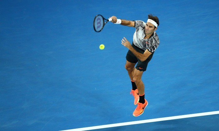Федерер вышел вчетвертьфинал Открытого главенства Австралии
