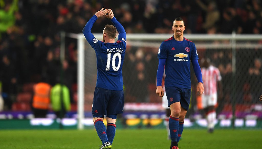 Уэйн Руни стал лучшим нападающим заисторию клуба «Манчестер Юнайтед»