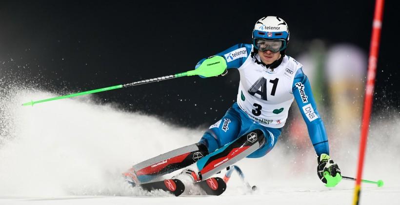 Хорошилов занял 3-е место наэтапе Кубка мира погорнолыжному спорту