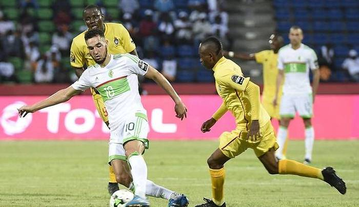 Марез спас для Алжира матч сЗимбабве— Кубок Африки