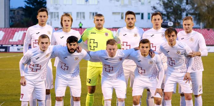 Волынь разгромила седьмую команду Словакии
