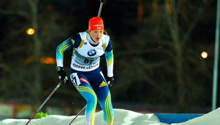 Суд остановил дисквалификацию украинской биатлонистки
