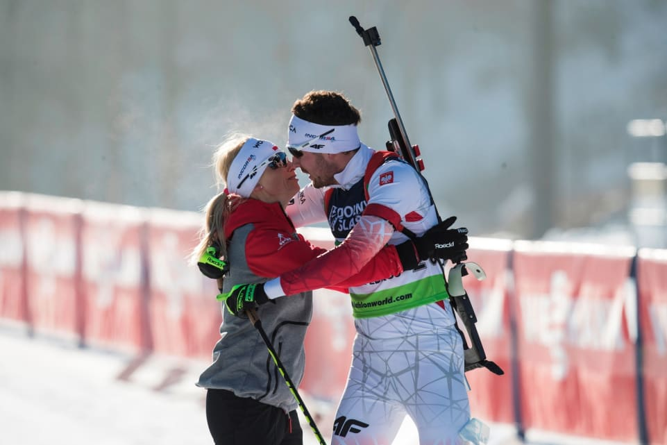 Русские биатлонисты заняли первое место вмедальном зачете начемпионате Европы