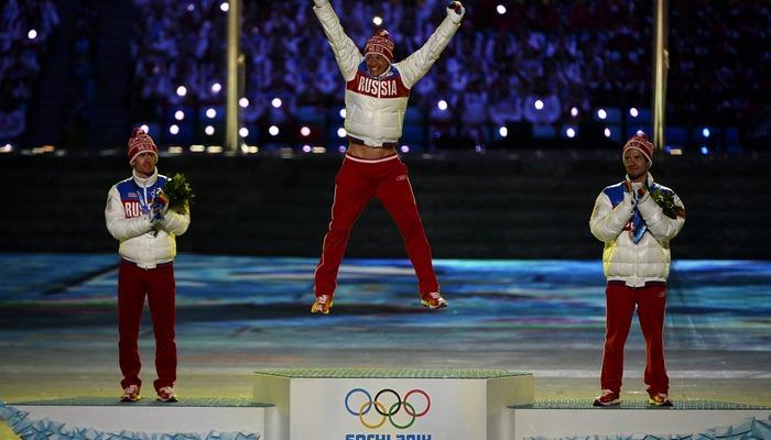 Русских лыжников могут лишитьт наград Олимпийских игр вСочи