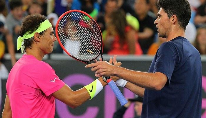 Надаль обыграл Раонича ивышел вполуфинал Australian Open