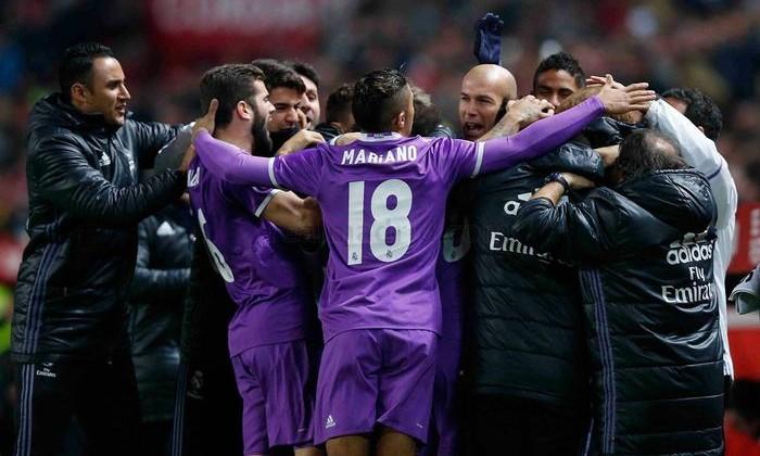 «Реал» проиграл «Севилье», прервав серию из40 матчей без поражений