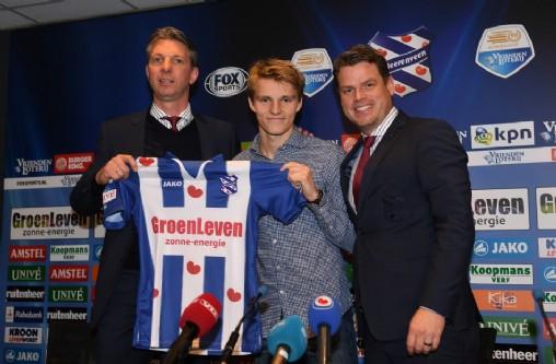 Нидерландский футбольный клуб «Херенвеен» арендовал полузащитника «Реала» Эдегора