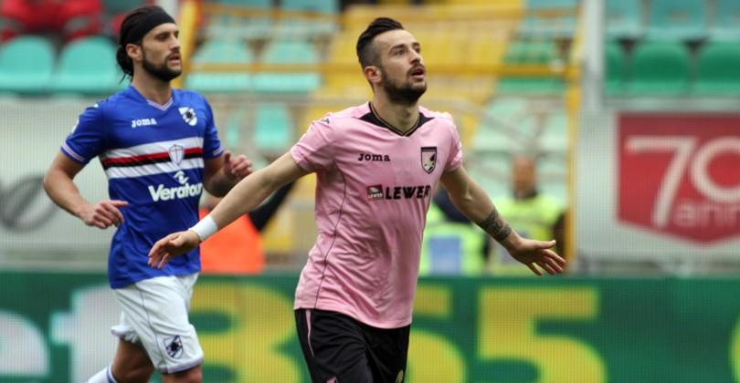 Сампдория спасается в матче с Палермо