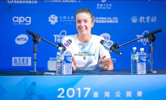 Элина Свитолина победила Мэнди Минеллу вполуфинале турнира вГаоюсне