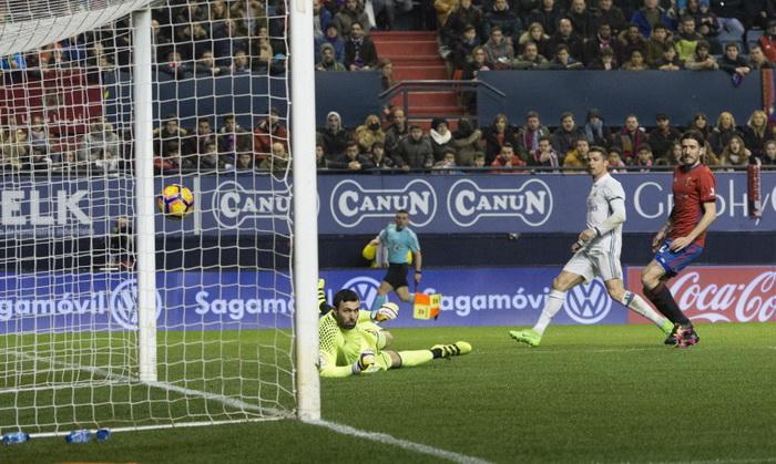 Реал Мадрид обыграл Осасуну в Памплоне