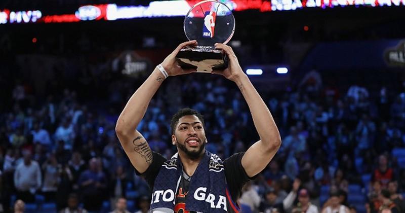 Э. Дэвис стал MVP Матча звёзд НБА, установив рекорд результативности