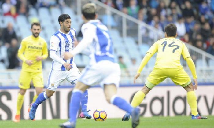 Вильярреал минимально обыграл Реал Сосьедад