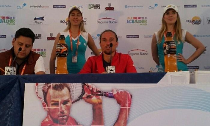 Александр Долгополов вылетел впервом круге турнира ATP вЭквадоре