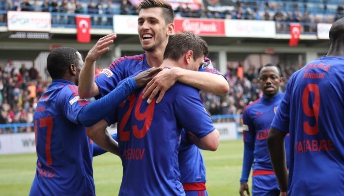 Селезнев забил вматче чемпионата Турции