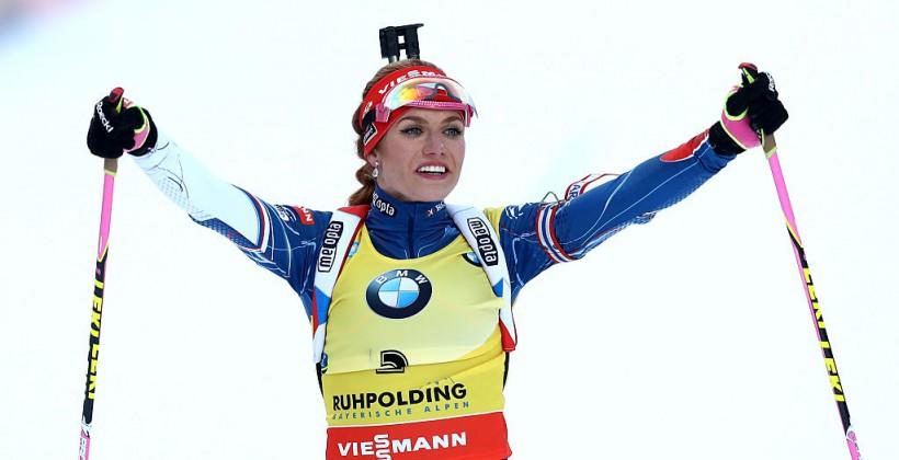 Биатлон: Каукалова стала чемпионкой мира вспринте, Меркушина втоп-10