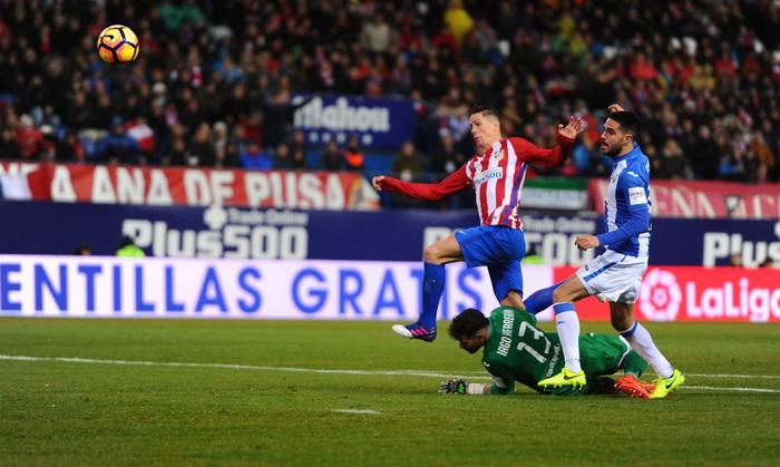 Дубль Торреса принес Атлетико победу над Леганесом