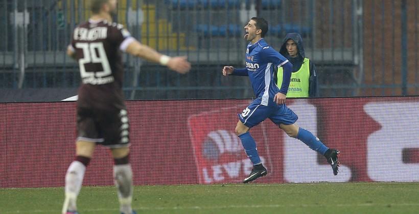 Торино потерял два очка в матче с Эмполи