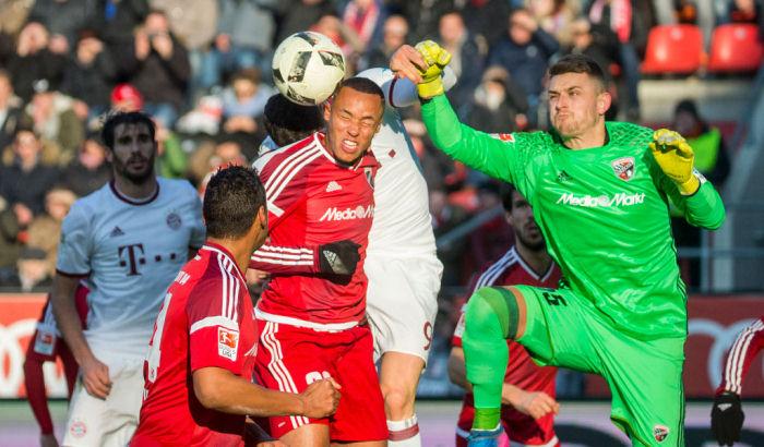 «Бавария» вырвала победу у«Ингольштадта», «Байер» разгромил «Айнтрахт»