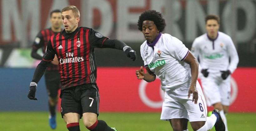 Милан оказался сильнее Фиорентины на Сан Сиро