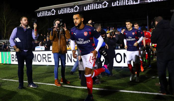 125-килограммовый вратарь «Саттон Юнайтед» перекусил вовремя игры c«Арсеналом»