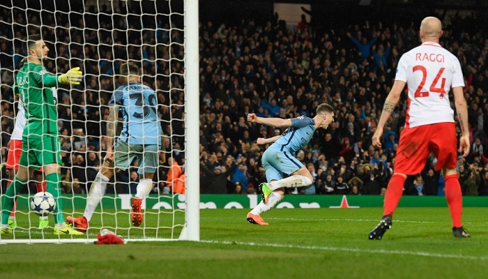 Манчестер Сити— Монако— 5-3: видео обзор сумасшедшего матча Лиги чемпионов