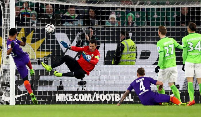 «Вердер» навыезде обыграл «Вольфсбург»