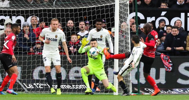 «Монако» одержал выездную победу над «Генгамом»