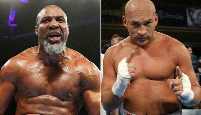 Шеннон Бриггс и Фрес Окендо, boxingscene.com
