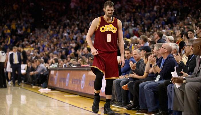 Баскетболист «Кливленда» Кевин Лав пропустит Матч звезд НБА из-за травмы