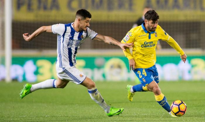 Гол Хаби Прието принес «Реал Сосьедад» победу над «Лас-Пальмасом»