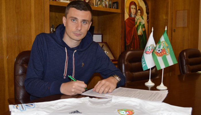 Защитник Александр Чижов стал игроком Ворсклы