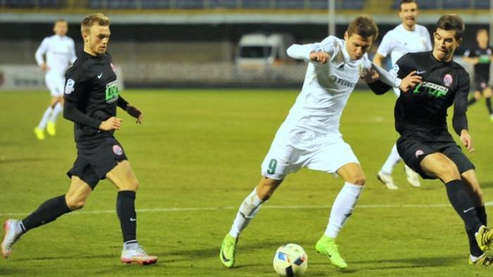 «Олимпик» забил три гола за7 минут. Одесситы проиграли «Стали»