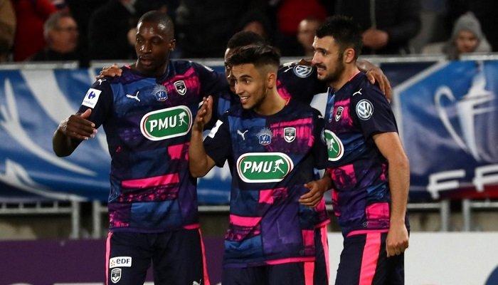 Дубль Ляборда вывел Бордо в четвертьфинал