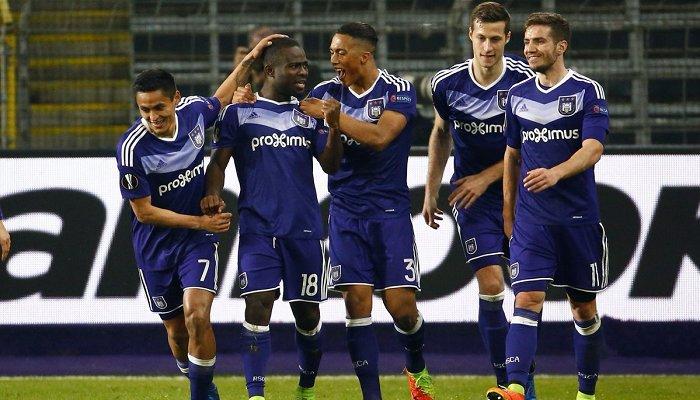 Андерлехт выбил АПОЭЛ в 1/8 финала Лиги Европы
