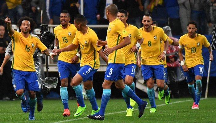 Бразилия вышла на чемпионат мира-2018