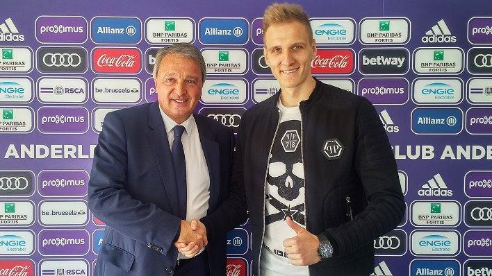 Теодорчик подписал контракт с Андерлехтом