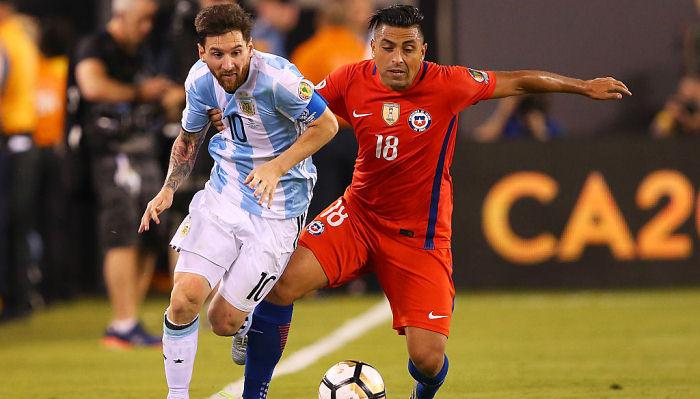 Саморано считает, что вЧили Месси ценилибы больше, чем вАргентине