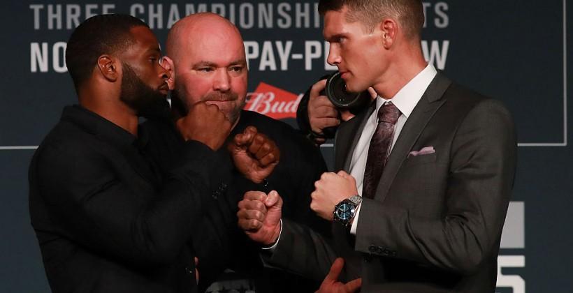 Вудли победил Томпсона изащитил титул чемпиона UFC вполусреднем весе