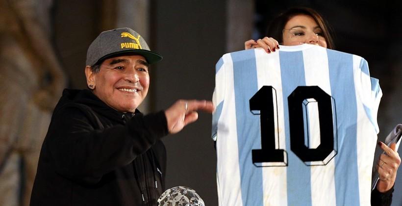 Диего Марадона хочет подать всуд насоздателей известного футбольного симулятора