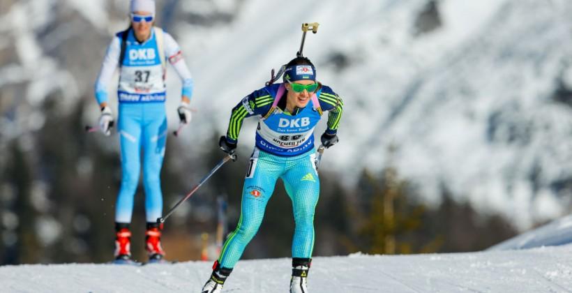 Лаукканен выиграла спринт на заключительном этапеКМ побиатлону, Старых— 15-я